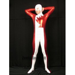 Marvel Comics Red Metals And White Lycra Alpha Flight Northstar Superhero Costume