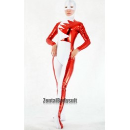 Alpha Flight Red Metal and White Lycra Vindicator Superhero Costume