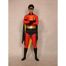 Batman Series Robin Costume Spandex Superhero Zentai Suits