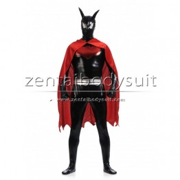 Black Shiny Metallic Batman Superhero Costume | Batman Suits