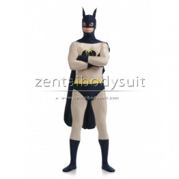 Batman Costume Lycra Spandex Superhero Zentai Suit