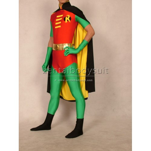 Batman Series Robin Costume Tim Drake Version Spandex Superhero Zentai Suits
