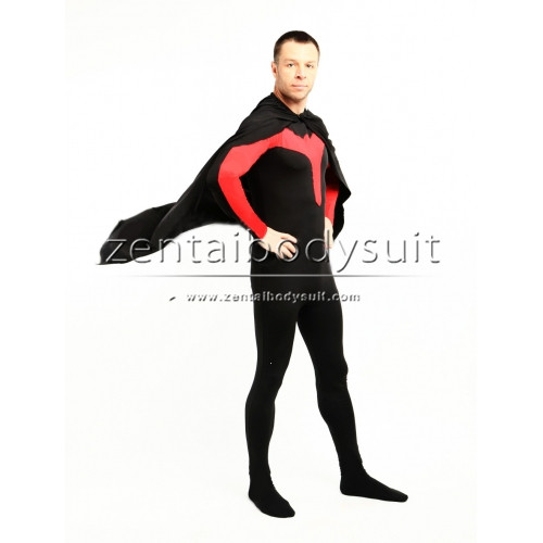 DC Comics Batman 3 Red Robin Costume Superhero Zentai Suit
