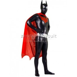 DC Comics Metallic Batman Costume Superhero Zentai Bodysuit