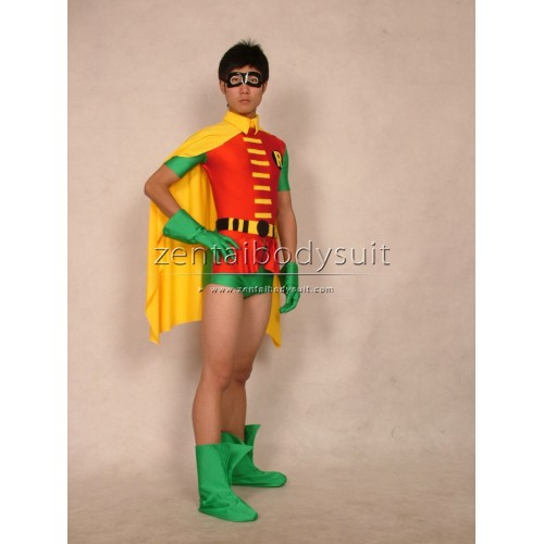 Jason Todd Version Robin Costume Spandex Superhero Zentai Suits