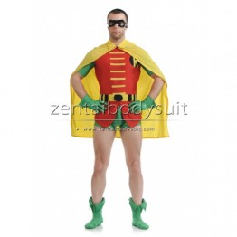 Jason Todd Version Robin Costume Superhero Zentai Suit