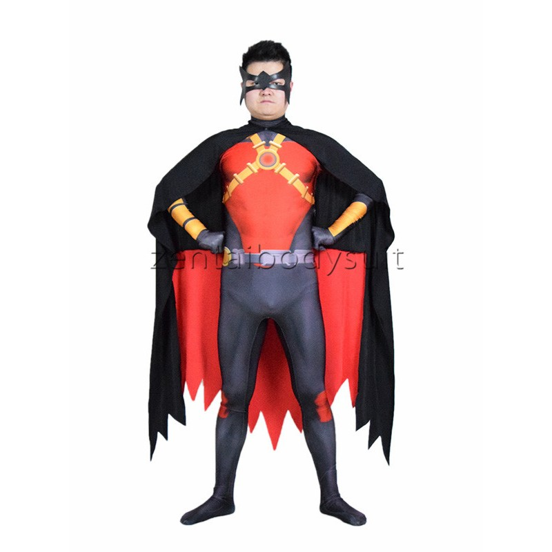 sc 1 st  Zentai Suits cosplay Personalize Party & New 52 Red Robin Cosplay Costume