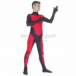 Robin Tim Drake Red Spandex Superhero Costume