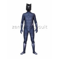 2018 Black Panther Costume Superhero Suit | Including Masks