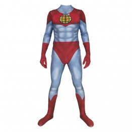 3D Printed Captain Planet and the Planeteers Captain Planet Superhero Costume