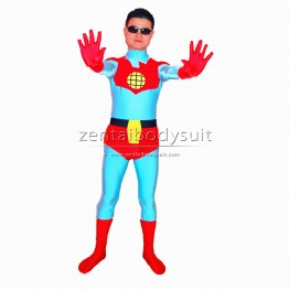 Captain Planet Superhero Costume