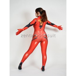 3D Print Red Asuka Langley Soryu Cosplay Costume