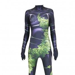 Poison Ivy Suit Birds of Prey Cosplay Costume