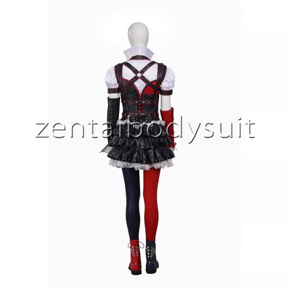sc 1 st  Zentai Suits cosplay Personalize Party & Arkham Knight Harley Quinn Female Supervillain Batman Cosplay Costume