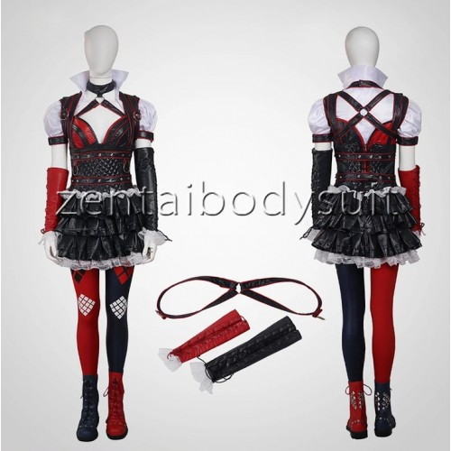 Arkham Knight Harley Quinn Cosplay Costume