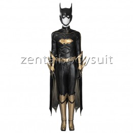 Batman:Deluxe Arkham Knight Batgirl Girls Superhero Cosplay Costume