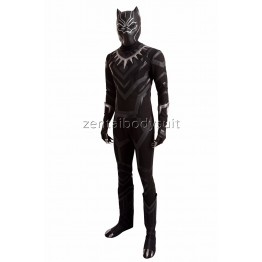Civil War Marvel Captain America Black Panther Cosplay Full Luxury Set