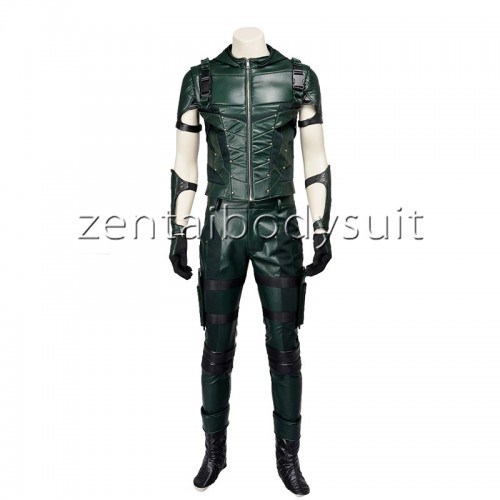 DC Comics Green Arrow Superhero Cosplay Costume