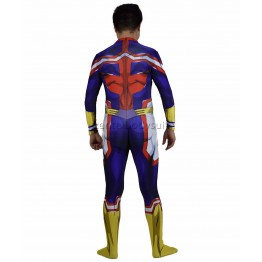 My Hero Academia Male All Might Cosplay Costume