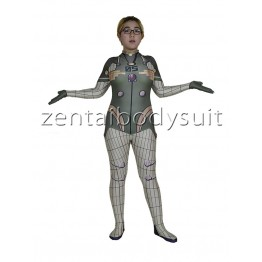 Plug Suit Cosplay Superhero Costume