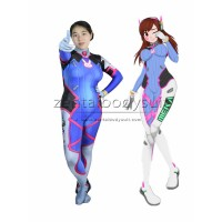 D.VA Cosplay Costume D.Va Costume Video Game Overwatch Dva Zentai Suits