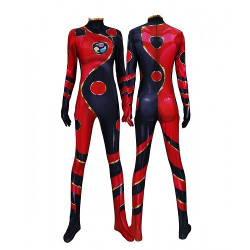 Miraculous Ladybug dragon bug Cosplay Zentai Costume jumpsuit adults/kids