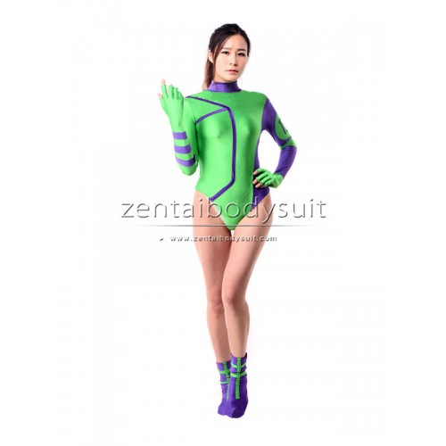 Caitlin Fairchild Leotard Lycra Hero Cosplay Costume
