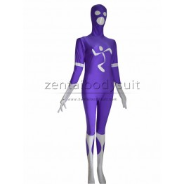 Custom Purple Superhero Cosplay Costume Zentai Suits
