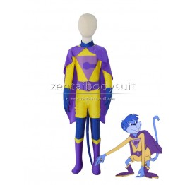 Gleek Super Friends Wonder Twins Superhero Cosplay Costume