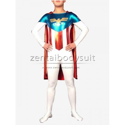 Hawk Emblem Superhero Cosplay Zentai Suits
