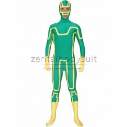 Kick-Ass Spandex Superhero Cosplay Costume