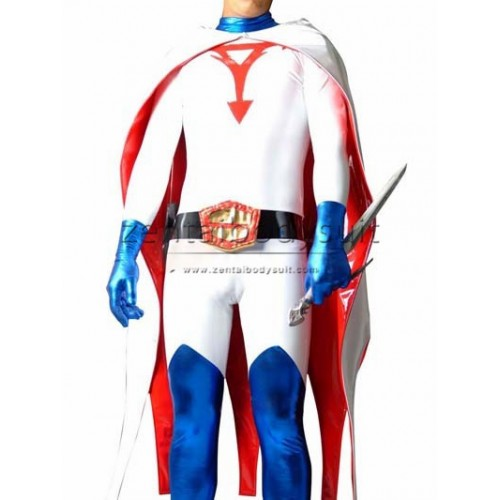 Science Ninja Team Gatchaman Ken Superhero Cosplay Costume