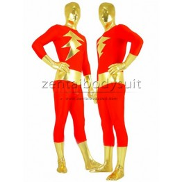 Captain Marvel Costume Shazam Super Hero Suit