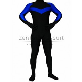 DC Comics Nightwing Costume Spandex Superhero Suit
