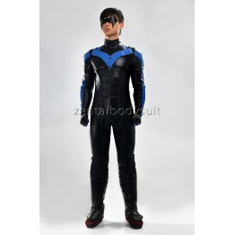 Batman:Arkham City Nightwing Cosplay Halloween Costume