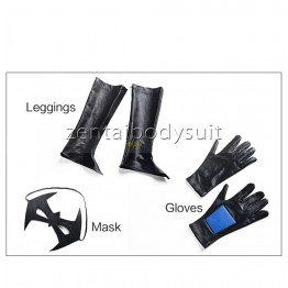Batman:Arkham City Nightwing Female Cosplay Costume