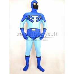 Blue Beetle Costume Spandex Superhero Costumes