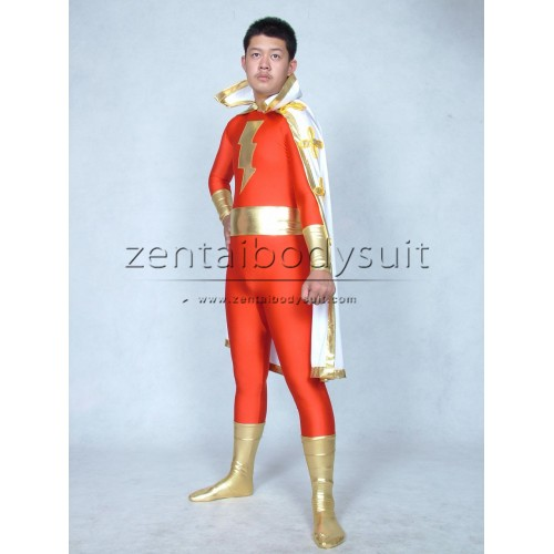 Captain Marvel Costume Super Hero Suit
