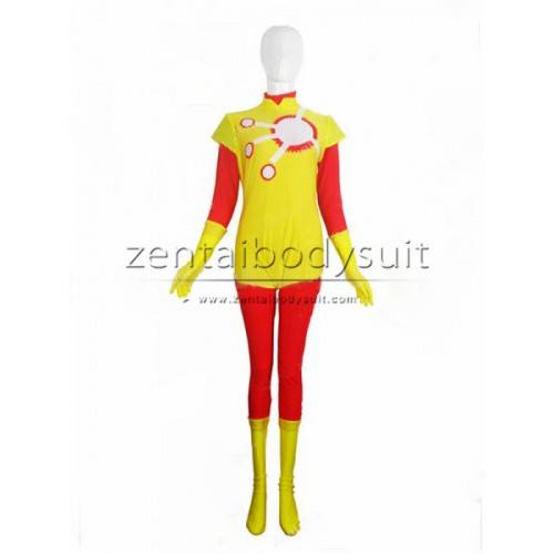 Firestorm Costume Spandex Superhero Suit