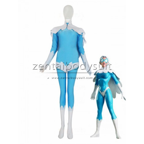 Hawk And Dove Costume Spandex Female Dove Superhero Costumes