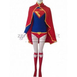 Leotard Design Supergirl Costume Spandex Superhero Suit