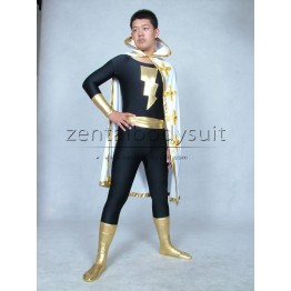 Marvel Family Costume Black Adam Superhero Suit