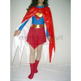 Supergirl Shiny Metallic Costume