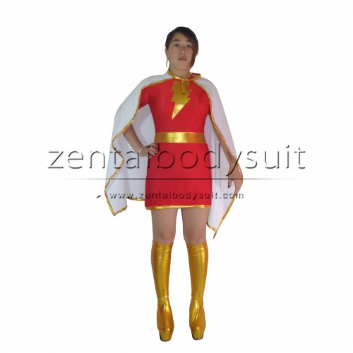 The Marvel Family Mary Costume