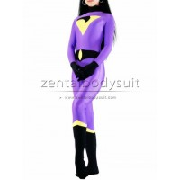 The Wonder Twins Costume Jayna Spandex Superhero Suit
