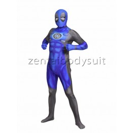 3D Print Blue Deadpool Lantern Corps Superhero Costume
