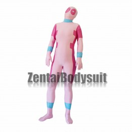 Pink And Rose Deadpool Costume Lycra Spandex Deadpool Suit