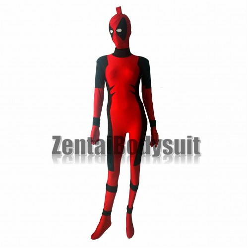 Killer Queen Spandex Lycra Deadpool Corps Zentai Costume