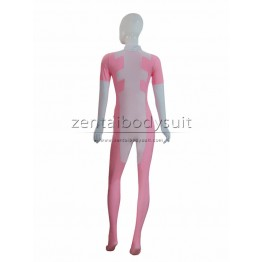 Pink And White Custom Spandex Deadpool Costume