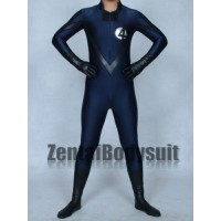 Blue And Black Fantasitic Four Superhero Zentai Costume